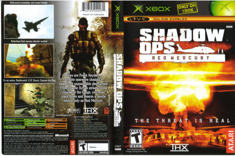 Game Zone: SHADOW OPS RED MERCURY